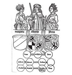 Chroneken der sassen was designed be german vector