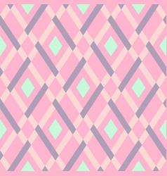 Geometric seamless argyle pattern vector