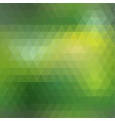 Green mosaic seamless vector image