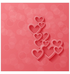 Abstract modern style love background vector image vector image