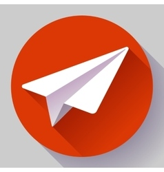 Aircraft logo icon Flat 20 design style vector image vector image