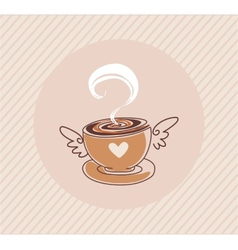 Coffee cap vector