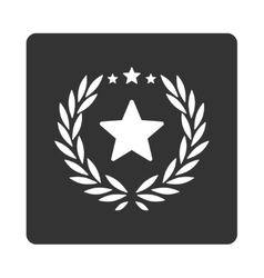 Proud icon from award buttons overcolor set vector