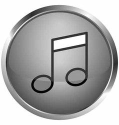 Icon song vector