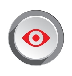 Eye icon medical optical glass appliance vision vector