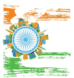 Happy indian republic day banner vector