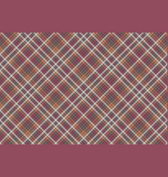 Mosaic check plaid fabric texture seamless pattern vector