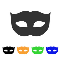 privacy mask icon vector image vector image