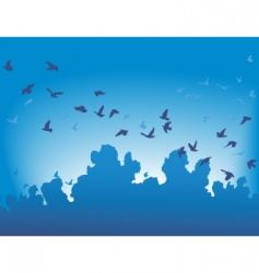 migration vector image