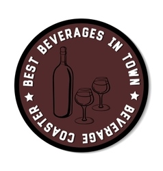 Beveragecoaster vector