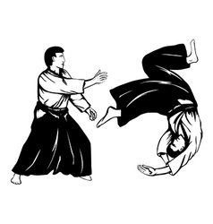 aikido5 vector image vector image