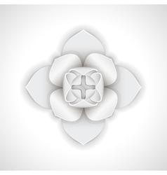 Gypsum flower vector image