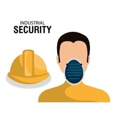 Industrial security equipment vector