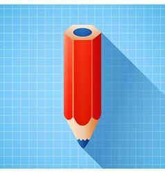 3d colorful pencil vector