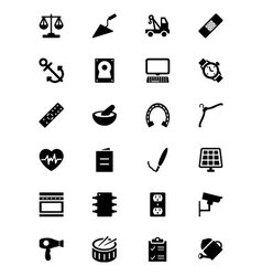 Tools icons 7 vector