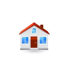 House icon isolated vector