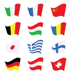 Flag color vector