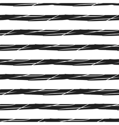 Grunge stripes seamless pattern black horizontal vector