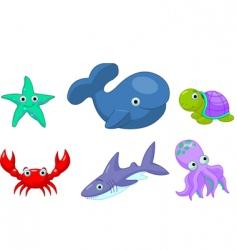 sea life vector image vector image