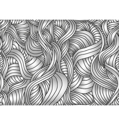 Seamless abstract pattern with waves vector