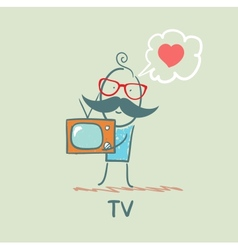 People like tv vector