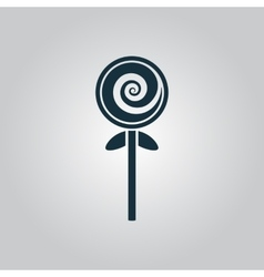 Spiral candy vector