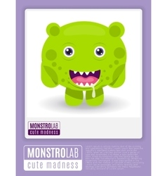 Monstrolab cute madness picture of vector