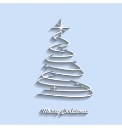 merry christmas 4 vector image