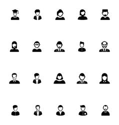Profession avatar icon 4 vector