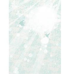 Ray of sunshine vector image