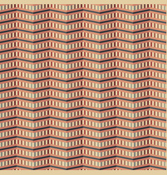 zigzag pattern of multiple cells vector image