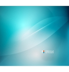 Blue blurred colors abstract background vector image