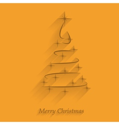 merry christmas 5 vector image