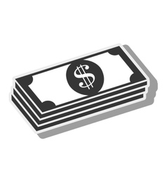 money bill economy finance icon graphic vector image