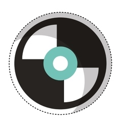 long play retro music vector image