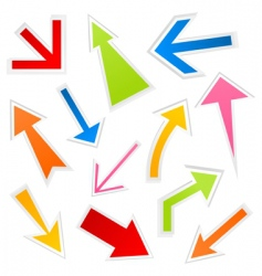 arrow5 vector image