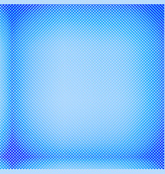 blue halftone background vector image vector image