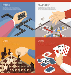 Board games design concept vector