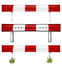 guardrail vector image