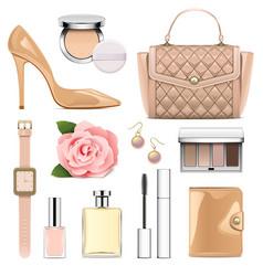 Fashion accessories set 2 vector