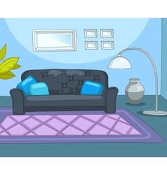 Room cartoon vector