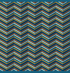 zigzag pattern with rippled effect vector image