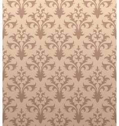antique wallpaper vector image vector image