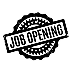Job opening rubber stamp vector