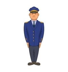 Policemen icon in cartoon style vector image