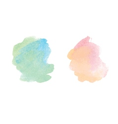 watercolor stain vector image