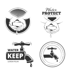 water care vector image