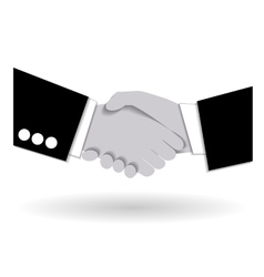 Agreement handshake business concept vector image vector image