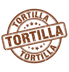 tortilla stamp vector image