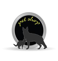 pet shop icon vector image